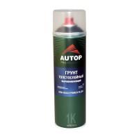 AUTOP High Build Primer Грунт толстослойный выравнивающий №15 (аэрозоль), чёрный, уп. 650мл