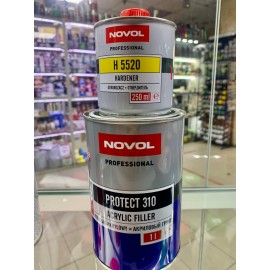 Грунт NOVOL PROTECT 310 HS 4+1, серый (комплект), уп.1л+0,25л