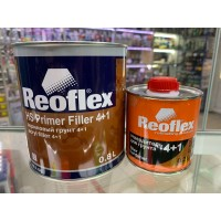 Грунт REOFLEX HS PRIMER FILLER 4+1 RX F-06, серый (комплект)