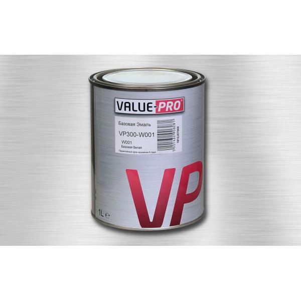 VALUE-PRO VP300-W001 Базовая эмаль БЕЛАЯ 1 л.